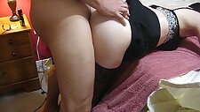 Sexy cougar moaning while fucked really hard and deep anal hard