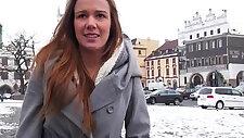 Lovely czech girl screwed up for money