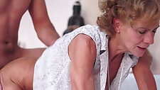 Sensual Hairy Granny Madie Mccrea
