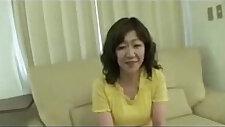 Japanese Chubby Big clit Mature Eriko Nishimura