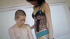 JAPANESE GIRL sucks FUCKS MALE CHAUVINISM!!!!