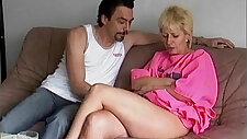 Hard style anal pounding granny Mathilde