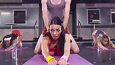 Busty Cutie Sophia Laure Doing Sweaty Ass Workout