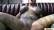 Exotic Tattooed MILF Hardcore Sex