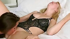 Sexy Lesbo party Girls make Love Scene On Tape clip