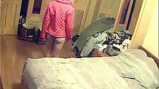 Real hidden cam caught cheating horny wife