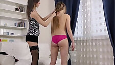 real flexi doll teen stretched