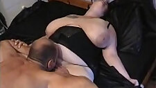 My Hubby best friends eating pussy