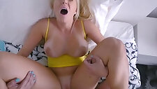 Stretching Out His Hot Stepmom Vanessa Cage