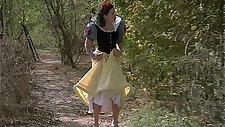 Full length Snow White porno spoof