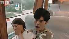 Korean sex in bus