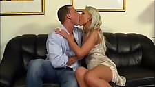 Blonde slut Gets Her Married Pussy licked and Fucked
