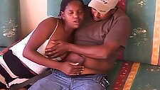 Romantic African fucking pussy play with amateurs
