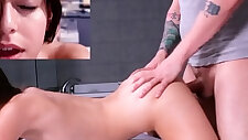 Tiny blonde Teen Faye First time Ever Casting
