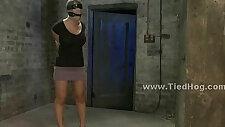 Sex slave in brutal bondage sex